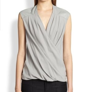 Helmut Lang Crossover Gray Top